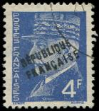 Lot n� 936 -  - EVREUX 14 : 4f. bleu, obl., TB, sign� Mayer