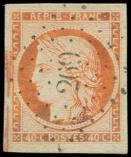 Lot n° 88 -  - 5    40c. orange, obl. PC 269, TTB
