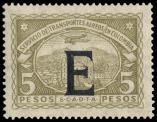 Lot n� 4794 -  - COLOMBIE PA 43/55 (sf. 48 et 51) : s�rie surcharg�e E � la machine, */**, TB