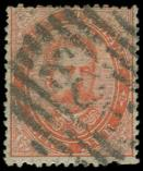 Lot n° 4729 -  - ITALIE 39 : 2l. rouge, obl., TB