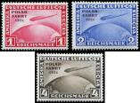 Lot n° 4630 - * - --- EMPIRE PA 40/42 : surchargés POLAR-FAHRT 1931, TB