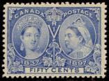 Lot n° 4788 - * - CANADA 48 : 50c. outremer, TB
