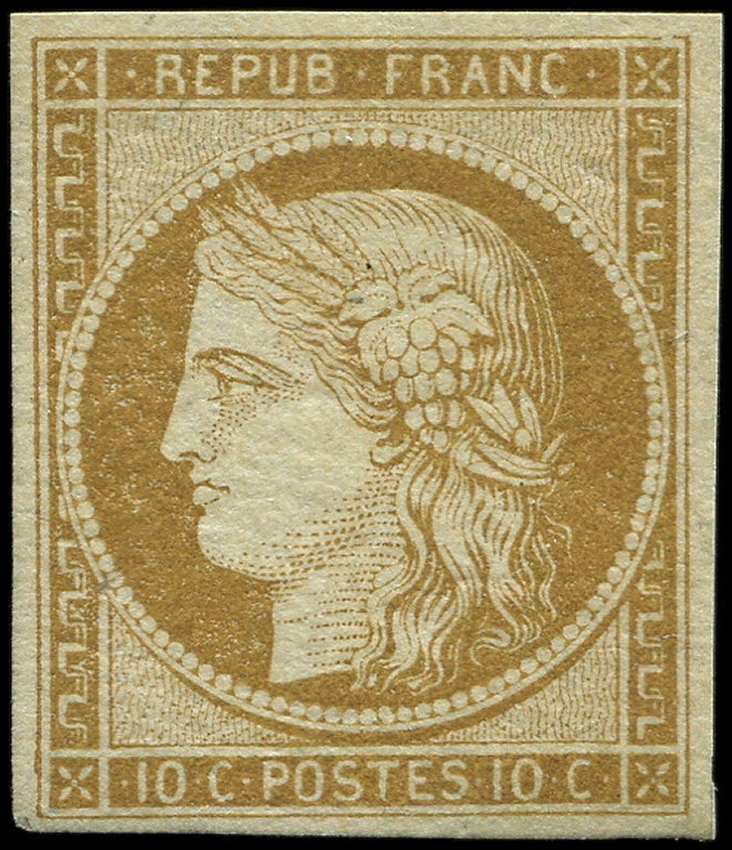 Lot 1 - France emission de 1849 -  Ceres Philatelie Auction #175