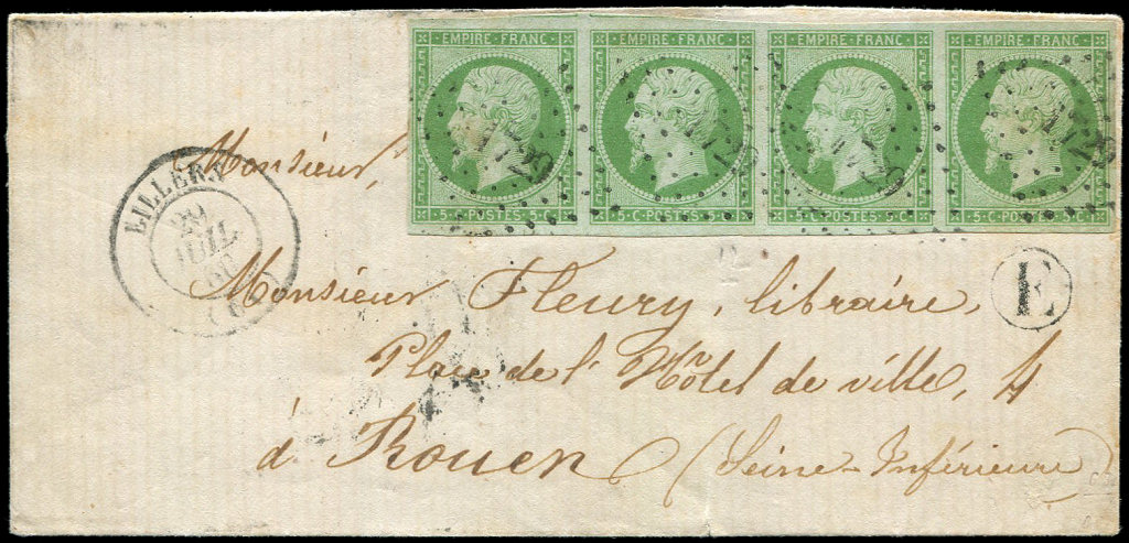 Lot 210 - France empire non dentelé -  Ceres Philatelie Auction #175