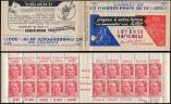 Lot n° 2198 -  - 813-C1   Gandon, 15f. rouge, n°813b, T II, S. 1, LOTERIE NATIONALE, TB