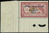 Lot n� 1716 - ** - 182   Congr�s de Bordeaux, 1f. lie de vin, cdf, TB