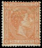 Lot n� 4604 - * - ESPAGNE 156 : 20c. orange, TB