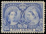Lot n� 4718 - * - CANADA 48 : 50c. outremer, TB