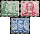 Lot n� 4578 - * - --- BERLIN 51/53 : la s�rie, TB