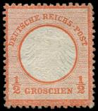 Lot n� 4550 - * - --- EMPIRE 3 : 1/2g. vermillon, TB