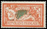 Lot n� 1683 - ** - 145   Merson,  2f. orange et vert fonc�, TB