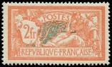 Lot n� 1681 - ** - 145   Merson,  2f. orange et vert-bleu, tr�s bon centrage, TTB