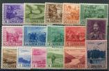 Lot n� 4702 - ** - MONTENEGRO Occupation Italienne 28/37 et PA 22/27 : TB
