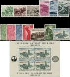 Lot n° 4924 - ** - Belgique, petit lot de 1953 à 57 dont BF 31, TB