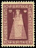 Lot n� 4821 - ** - LIECHTENSTEIN 172 : 10f. lie de vin, TB