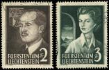 Lot n� 4823 -  - LIECHTENSTEIN 294/95 : Couple Princier, obl., TB