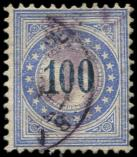 Lot n� 4880 -  - SUISSE Taxe 13 : 100 outremer, obl., TB
