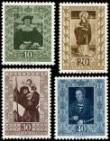 Lot n� 4822 - ** - LIECHTENSTEIN 273/76 : Tableaux, TB