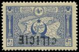 Lot n° 3826 - ** - CILICIE 23 : 50pa. outremer, surcharge RENVERSEE, TB