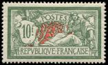 Lot n� 1624 - ** - 207   Merson, 10f. vert et rouge, excellent centrage, TB