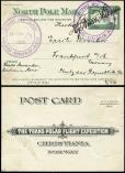 Lot n� 4837 - <span><img src='https://www.ceres.fr/img/ImgLet.jpg' height=14 width=18 alt='Let' border='0'></span> - NORVEGE CP North Pole Mail avec cachet LUFTPOST MED