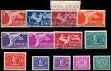 Lot n� 4812 - ** - ITALIE Expr�s 27/34, 36/37, Taxe 74 et 76, TB