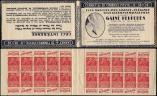 Lot n� 1919 -  - 272-C1    Fachi, 50c. rouge, n�272b, T II, S. 219-A, GAINE PERPEDES, pli accord�on en C1, TTB