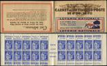 Lot n� 1941 -  - 368-C2    Paix, 90c. bleu, n�368a, T I, S. 43, LOTERIE NATIONALE, Superbe