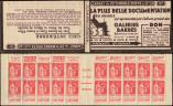 Lot n� 1933 -  - 283-C35   Paix, 50c. rouge, n�283c, T IIA, S. 333, GALERIES BARBES, TP coll�s sur couv., B/TB