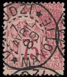 Lot n° 3252 -  - 58   75c. rose, obl. càd D'ZAOUDZI-MAYOTTE 7/4/89, TB