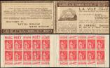Lot n� 1928 -  - 283-C9    Paix, 50c. rouge, n�283a, T I, S. 266, COTE D'OR-B, Opticien LEMBREZ, TB