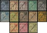 Lot n� 4193 - * - SAINT PIERRE ET MIQUELON 18/30 : la s�rie, TB