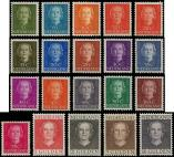 Lot n� 4842 - ** - PAYS-BAS 512A/27 : s�rie Juliana de 1949/50, TB