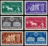 Lot n� 4831 - ** - LUXEMBOURG 443/48 : Europe Unie, TB