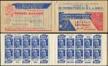 Lot n� 2623 -  - 886-C1    Gandon, 15f. bleu, n�886c, T II, S. 5, LOTERIE NATIONALE/PERNET DUCHER, 201 GP, Superbe