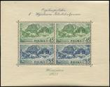 Lot n� 4846 - ** - POLOGNE BF 5 : Expo Philat�lique de Varsovie de 1938, TB
