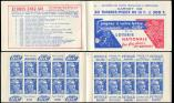 Lot n� 2624 -  - 886-C2    Gandon, 15f. bleu, n�886c, T II, S. 8, LOTERIE NATIONALE, TTB