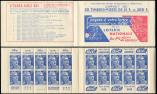 Lot n� 2625 -  - 886-C5    Gandon, 15f. bleu, n�886c, T II, S. 6, LOTERIE NATIONALE, TTB