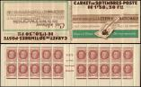 Lot n° 2617 -  - 517-C1    Pétain, 1f.50 brun, n°517, S.63, LOTERIE NATIONALE, 6 points blancs, Superbe
