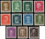 Lot n� 4727 - ** - --- EMPIRE 379/89 : Personnalit�s 1926-27, TB