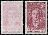 Lot n� 4832 - ** - LUXEMBOURG 891 : Goethe, impression EXTRA p�le, presque A SEC, TB