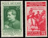 Lot n� 4859A - ** - VATICAN 69 et 74 : Presse Catholique, TB