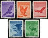 Lot n� 4761 - ** - LIECHTENSTEIN PA 9/13 : Aigle Royal, la s�rie de 1934/36, TB