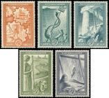 Lot n� 4739 - ** - GRECE 575/80 : s�rie Reconstruction, TB