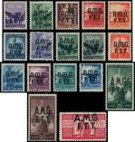 Lot n� 4786 - ** - TRIESTE ZONE A 1/17 : s�rie courante de 1947/48, TB