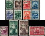 Lot n� 4787 - ** - TRIESTE ZONE A 48/59 : s�rie courante de 1949-50, TB