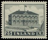 Lot n� 4745 - ** - ISLANDE 238 : Parlement, 25k. noir, TB