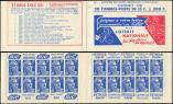 Lot n� 2331 -  - 886-C2    Gandon, 15f. bleu, n�886c, T II, S. 8, LOTERIE NATIONALE/EU Broch. 70201, un t. adh., sinon Superbe