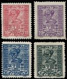 Lot n� 4790 - ** - YOUGOSLAVIE 31/34 : la s�rie, TB