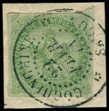 Lot n° 3470 -  - 2     5c. vert obl. càd COCHINCHINE SAIGON 22/2/71 s. fragt, Superbe